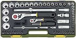 Proxxon 23286 Steckschlüsselsatz mit Knüppelratschen