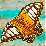Mandi - Home Décor - Hand Painted Wall Art On Teakwood - Parnos Sylvia