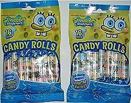 Sponge Bob Square Pants Candy Rolls (2 Pack)