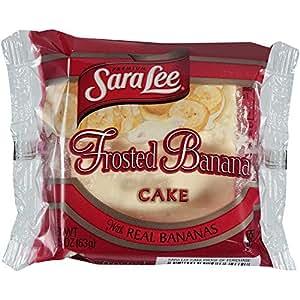 Amazon Com Sara Lee Iced Banana Cake 2 25 Ounce 24