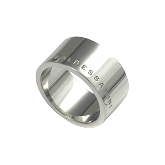 Baldessarini Ring 925 sterling silver Labeled Rhodium Solid Shiny