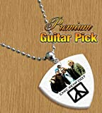 Chickenfoot Chain / Necklace Bass Guitar Pick Both Sides Printed