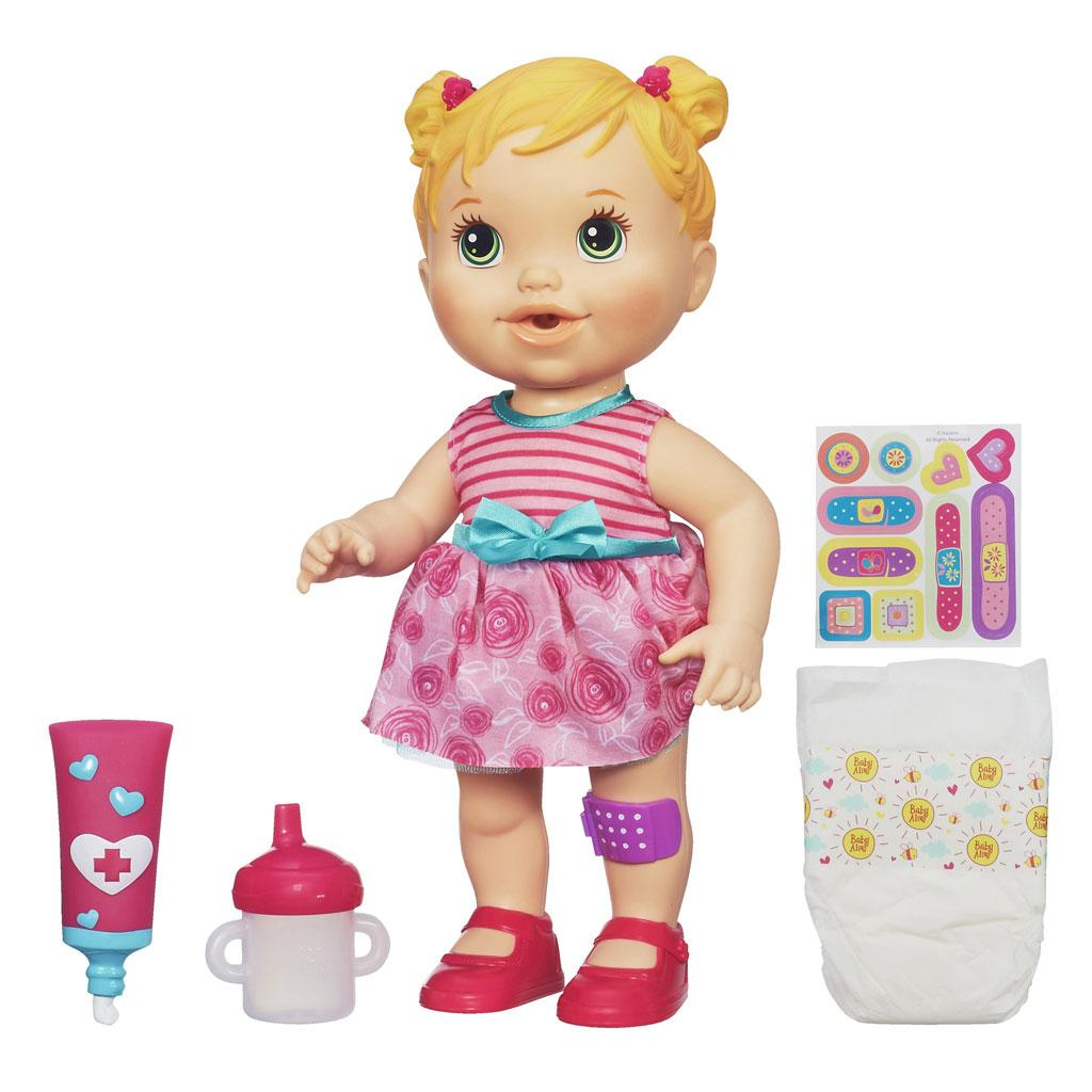 Amazon.com: Baby Alive Baby Gets a Boo Boo - Blonde: Toys & Games
