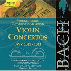 Violin Concerto in E Major, BWV 1042: II. Adagio