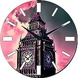 MeSleep London Clock Wall Clock With Glass Top