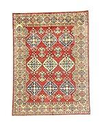L'Eden del Tappeto Alfombra Uzebekistan Rojo / Multicolor 205  x  153 cm