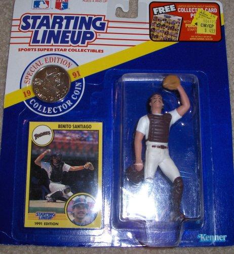Benito Santiago 1991 MLB Starting Lineup - 1