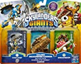 Skylanders Giants Exclusive Golden Dragonfire Cannon Batlle Pack Includes Chop Chop Gold Cannon Shroomboom XBOX PS3 Wii 3DS