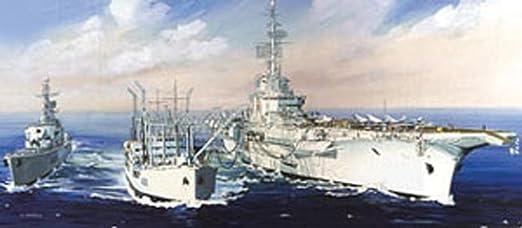 """Heller - 81092 - Construction Et Maquettes - Task Force """"Ravitaillement À La Mer"""" - Echelle 1/400ème"""