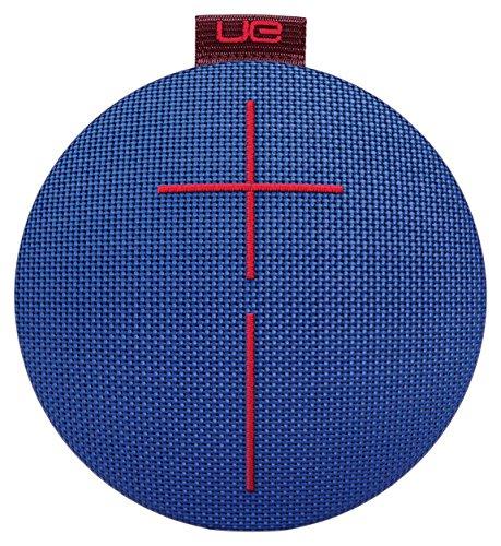 UE ROLL 2 Enceinte Bluetooth Ultra-portable - Etanche, Résistante aux Chocs (Livrée avec une Mini Bouée) - Bleu/Marron/Rouge