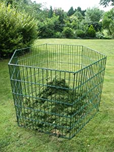 Laub & Rasenschnitt Komposter XXL über 2.400 Liter Füllvolumen grün  BaumarktKritiken und weitere Informationen