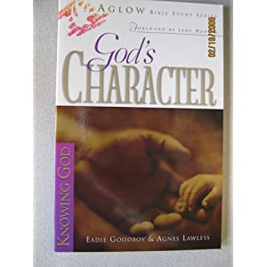 gods character  aglow bible