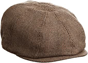 Goorin Bros. Men's Andre Newsboy Cap, Brown, Small