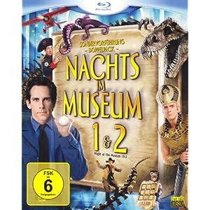 Nachts im Museum 1+2 (Blu-ray)