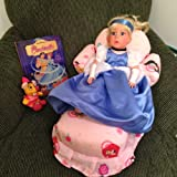 DISNEY PRINCESS Cinderella Doll with DISNEY Princess Doll Bed - Disney Princess Bedding