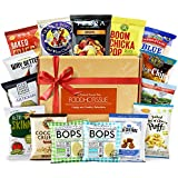 Gluten Free Snacks Healthy Gift Box Premium Care Package Variety Natural Organic Gluten GMO FREE Vegan School Lunch for kids Bundle 15 ct