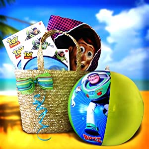 Toy Story Beach Bag Full of Fun Activity Gift Baskets