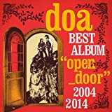 "doa BEST ALBUM""open door""2004-2014(初回限定盤)(DVD付)"