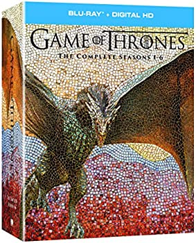 Game of Thrones: The Complete Seasons 1-6 on Bluray