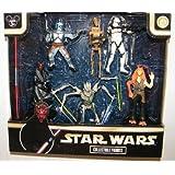 Star Wars Figure Set Disney Exlusive Set of Villians with Darth Maul, General Grevious Etc