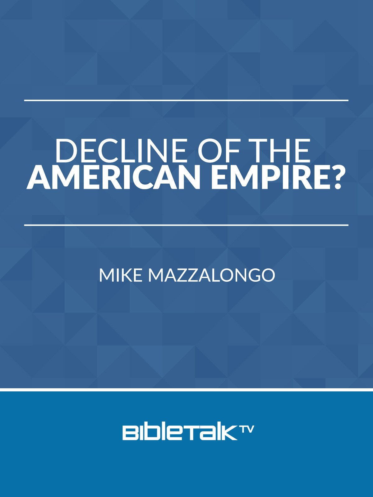 Decline of the American Empire?