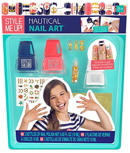 Style Me Up Nautical Nail Art - 1