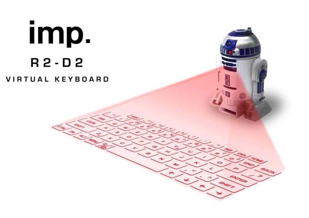 R2d2 Laser Projector Virtual Keyboard Wireless Watch Japan