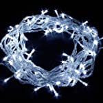 10 M AVEC 100 LED BLANCHE INTEGREES -...