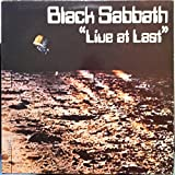 BLACK SABBATH live at last LP Mint- BS001 Vinyl 1980 UK 1st Ozzy Rare