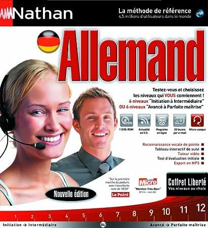 Nathan langues coffret liberté allemand 2008/2009