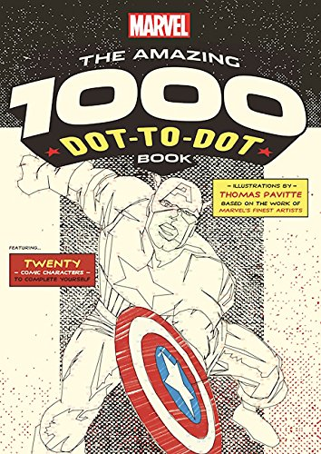 Marvel: The Amazing 1000 Dot-to-Dot Book (Puzzle Center 1000 compare prices)