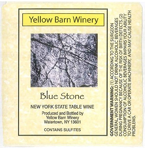 "Nv Yellow Barn Winery ""Blue Stone"" Dry White 750 Ml"