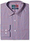 Peter England Men's Formal Shirt (8907411628859_PSF31600784_39_Red )