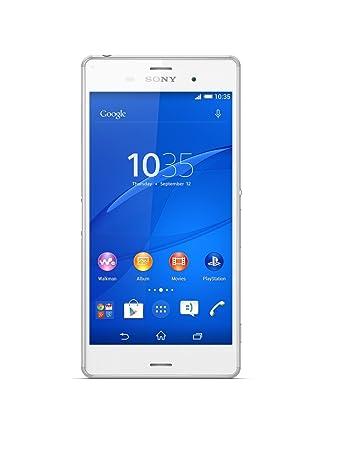 Sony Xperia Z3 Plus E6553 Smartphone débloqué (Ecran: 5.2 pouces) Blanc (import Italie)