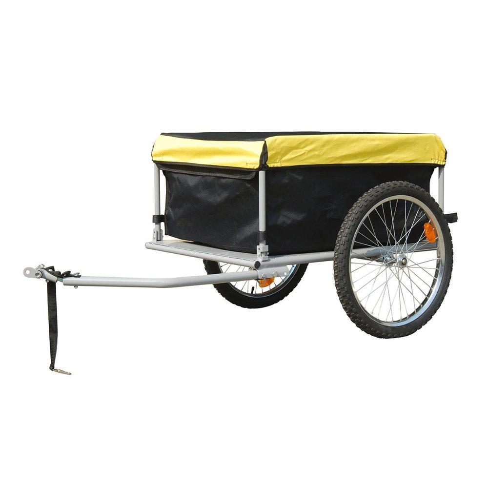 Gepäck Fahrradanhänger Transportanhänger Lastenanhänger Fahrrad Anhänger 140L  BaumarktÜberprüfung und weitere Informationen