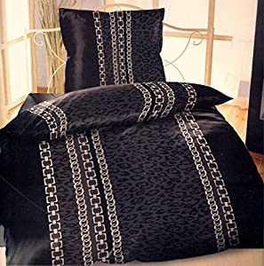 4 teiliges karo microfaser sommer bettw sche set mit rei verschluss 2x 135x200 bettbezug 2x. Black Bedroom Furniture Sets. Home Design Ideas