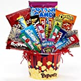 Junk Food Junky Snacks and Candy Bouquet Gift Basket – A Great Idea for Father's Day!