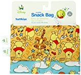 Bumkins Disney Baby Reusable Snack Bag, Winnie the Pooh, Small, 2 Count