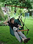 Adjustable Hanging Hammock Chair with...