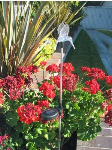 Solar wholesale 1004s decorative solar garden stake led - Decorative garden lights solar powered ...
