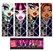 Amscan Monster High 12-Bookmark Favour