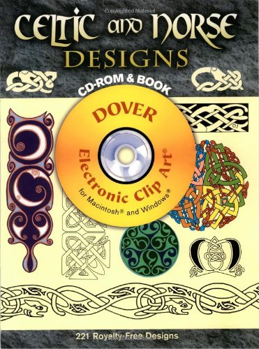 Celtic and Norse Designs CD-ROM and Book (Dover Electronic Clip Art)