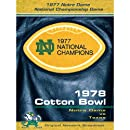 1978 Cotton Bowl: Notre Dame Vs. Texas