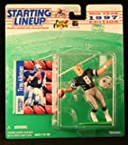 TROY AIKMAN / DALLAS COWBOYS 1997 NFL Starting Lineup Action Figure & Exclusive NFL Collector Trading Card
