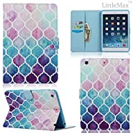 iPad Mini Case,Mini 2/3 Case – LittleMax(TM) PU Leather Stand Case Flip Wallet Case Cover with Auto…