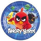 8 grande Plato Angry Birds Movie