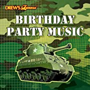 Camo Birthday Party Music CD