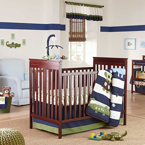 Navy And Grey Bedding 2162 front