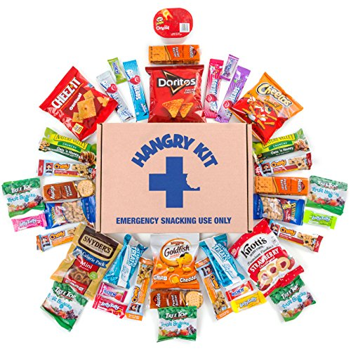 hangry-kit-sweet-salty-snack-sampler-care-package-gift-pack-variety-of-40-chips-candies-cookies-incl