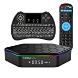 EVANPO T95Z PLUS Android 7.1 TV BOX Amlogic S912 Octa-core CPU 3GB RAM 32GB ROM (Backlight Wireless Keyboard Included) (Color: Red, Tamaño: T95Z(3G+32G) + H9 (Backlit))